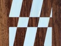 """Diagonals on Walnut, 14""""x5"""""""