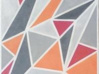 "Triangles, 24""x12"""