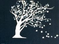 """Windblown Tree, 8""""x10"""""""