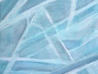 """Seaglass Diagonals, 12""""x12"""""""