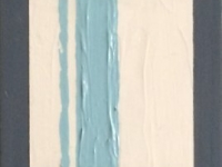 """Squares and Lines, 10""""x3""""."""
