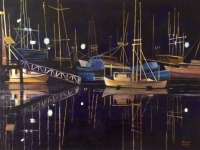 Fishing Fleet (Newport, OR), 18x24