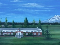 "Army Corps of Engineers Brigade HQ (Tacoma, WA), 15""x30"""