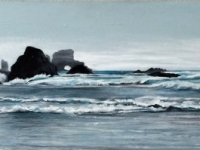 High Tide (Ecola State Park, OR), 10x30