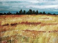 City on the Prairie (48x36)