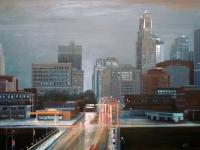Downpour (Kansas City, MO) 24x36