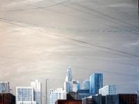 Kansas City Winter, 48x60
