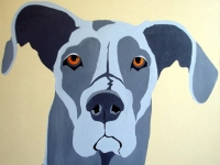 Timber (Great Dane), 36x36