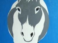 Clementine (Donkey), 48x24
