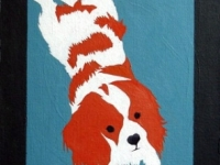 Hollywood (King Charles Cavalier), 24x12