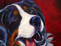 Bella 3 (Bernese Mountain Dog), 14x11
