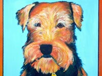 Bernice (Airedale), 20x16