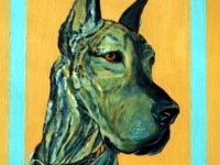 Isabelle (Great Dane), 20x16