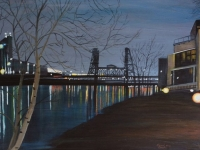 Steel Bridge 2013, 18x24